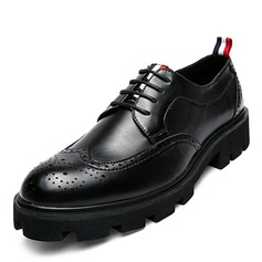Men's Leatherette Brogue Casual Men's Oxfords