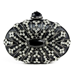 Charming PU With Acrylic Jewels/Czech Stones Clutches