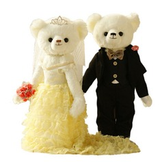 Toys Tulle Plush Bear Non-personalized Gifts