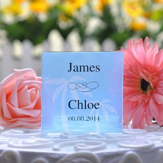Personalized Tree Design Crystal Cake Topper