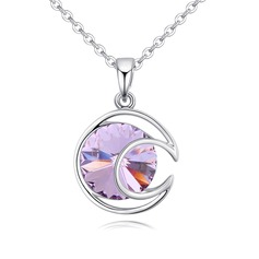 Beautiful Alloy/Crystal With Crystal Necklaces