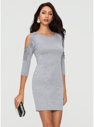Cotton Above Knee Dress