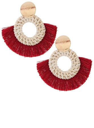 Unique Alloy Women's Fashion Earrings