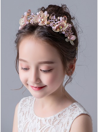 Alloy With Flower/Sequin Headbands