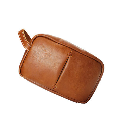 Groomsmen Regali - Moderno Pelle Dopp Kit Bag
