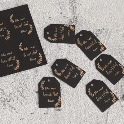 Bridesmaid Gifts - Fashion Paper Tag (Set of 6)