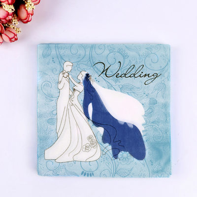 Bridesmaid Gifts - Fashion 100% Virgin Pulp Dinner Napkin (Set of 20)