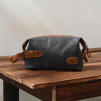 Groomsmen Regali - Stile Vintage Tela Dopp Kit Bag