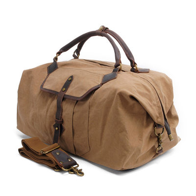 Groomsmen Gifts - Vintage Canvas Duffle Bag