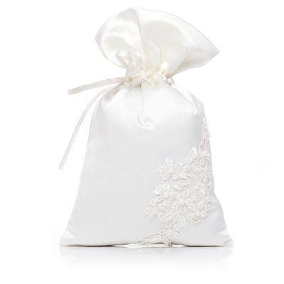 Bridesmaid Gifts - Classic Elegant Satin Imitation Pearls Bag