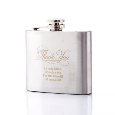 Groomsmen Gifts - Personalized Classic Elegant Fashion Stainless Steel Flask