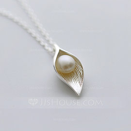Bridesmaid Gifts - Alloy Imitation Pearls Necklace