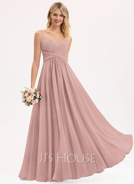 V-Neck Sleeveless Maxi Dresses (293250367)