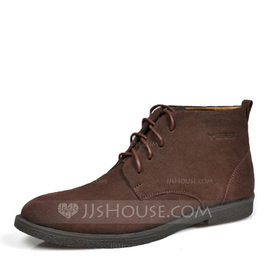 Men's Real Leather Chelsea Casual Men's Boots (261176701)