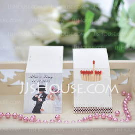 Personalized Bride And Groom Hard Card Paper (Set of 50) (118031596)
