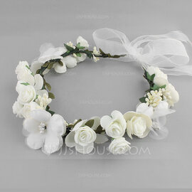Lovely Silk Flower Headbands (Sold in single piece) (042131418)