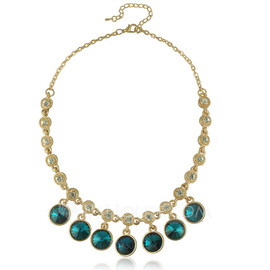 Beautiful Alloy With Crystal Ladies' Necklaces (011052793)