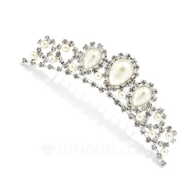 Beautiful Alloy/Pearl Combs & Barrettes (042027962)