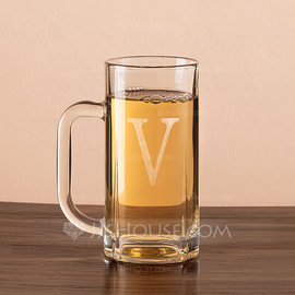 Groomsmen Gifts - Personalized Classic Glass Beer Mug (258184549)