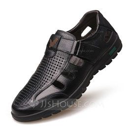 Men's Real Leather Casual Men's Sandals (262207970)