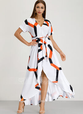 Polyester Maxi Dress (199222298)
