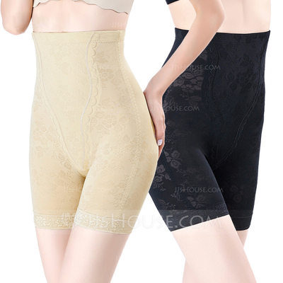 Women Chinlon/Nylon Breathability/Moisture Permeability High Waist Shapewear
