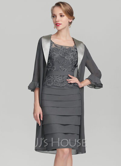 Chiffon Charmeuse Special Occasion Wrap