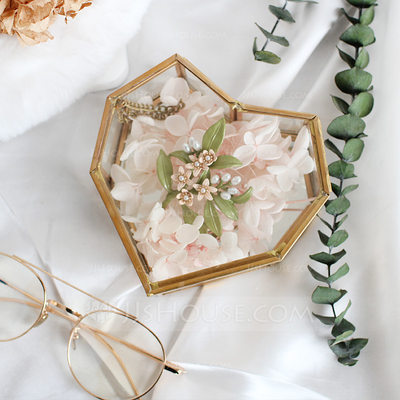 Bride Gifts - Beautiful Glass Alloy Jewelry Box