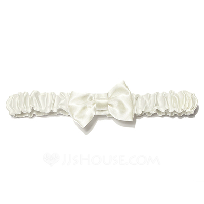 Chic Satin With Bowknot Wedding Garters