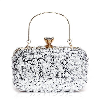 Bright Alloy Evening Bags