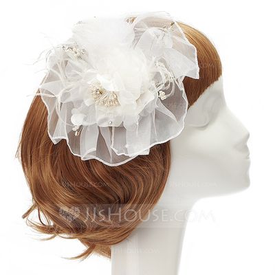 Special Net Yarn/Feather/Chiffon Flowers & Feathers