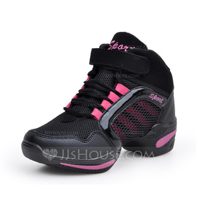 Women's Leatherette Sneakers Sneakers Dance Shoes