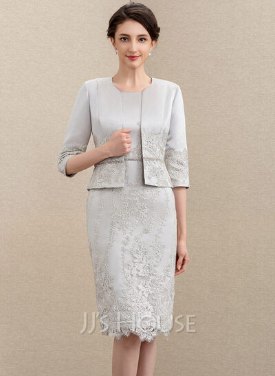 Lace Satin Special Occasion Wrap