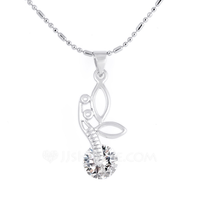 Nice Alloy With Rhinestone Necklaces