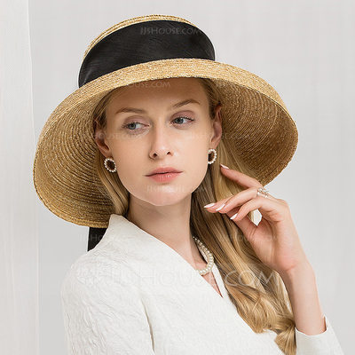 Ladies' Gorgeous/Glamourous Raffia Straw Beach/Sun Hats/Kentucky Derby Hats