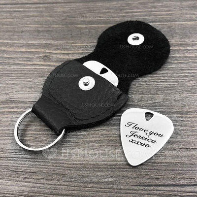 Personalized Stainless Steel Guitar Pick