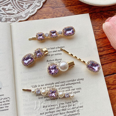 Beautiful Alloy Tiaras (Set of 5)