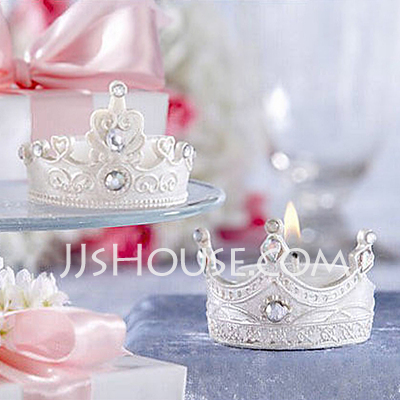 Crown Candle Favor Set Of 4 096017633 Candle Favors