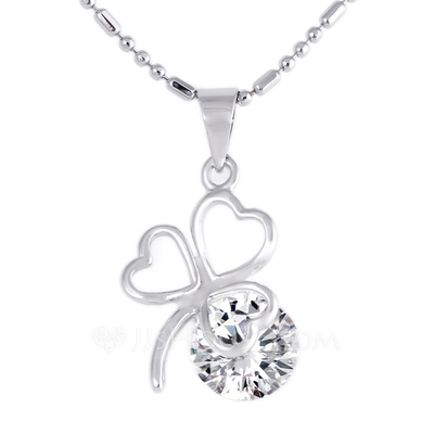 Classic Alloy With Rhinestone Ladies' Necklaces
