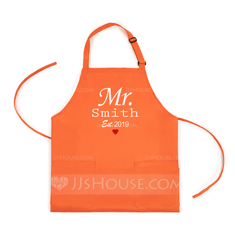 Casual Simple Classic Personalized Polyester Apron