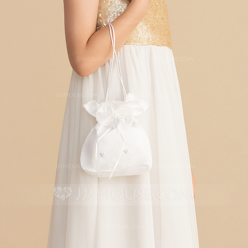 Bride Gifts - Beautiful Satin Bridal Purse