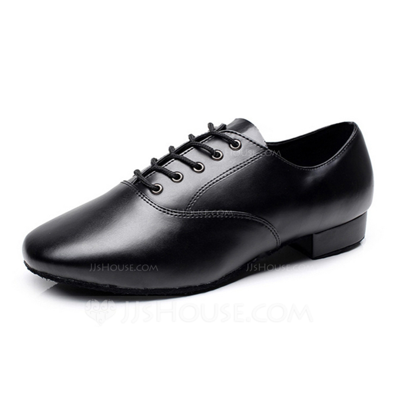 Men's Real Leather Flats Sneakers Latin Ballroom Practice Character Shoes Dance Shoes