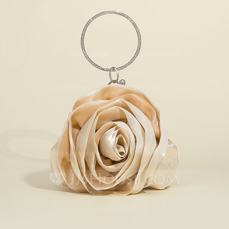 Gorgeous Silk/Tulle Wristlets/Bridal Purse