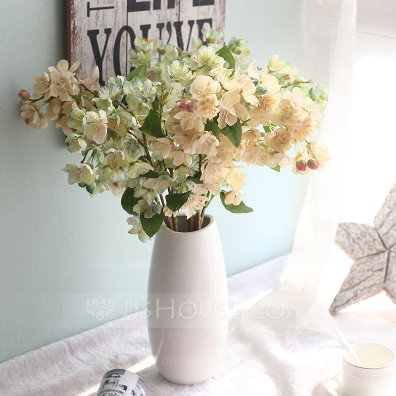 """Simple/Nice """"Beautiful Flower"""" Cloth Artificial Flowers (set of 4)"""