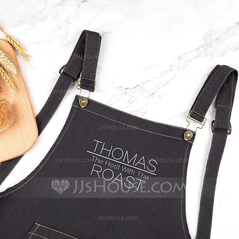 Classic High Quality Personalized Denim Apron