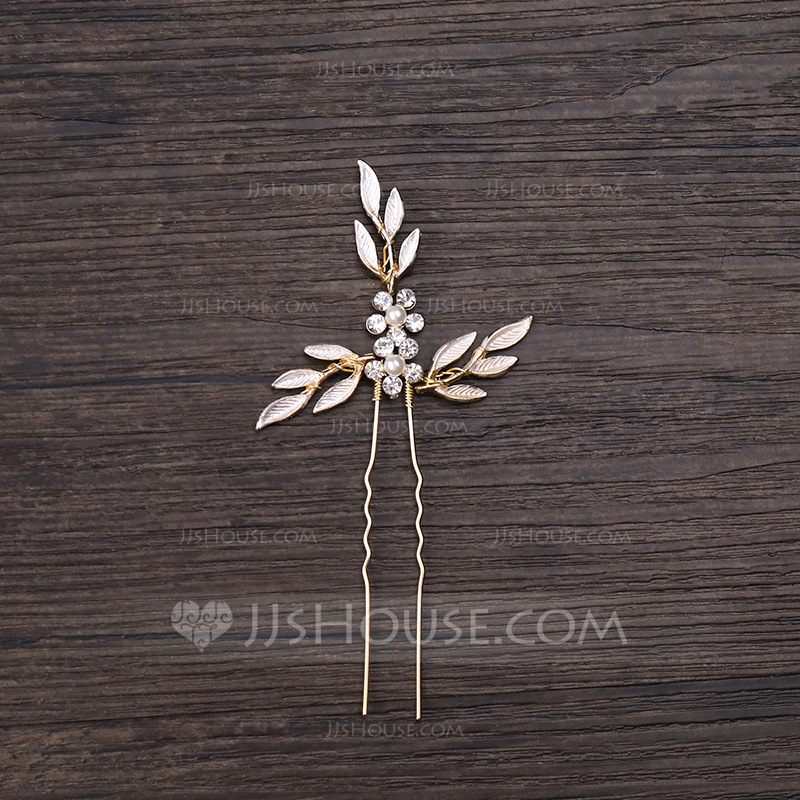 Ladies Eye-catching Alloy Hairpins (Sold in single piece)