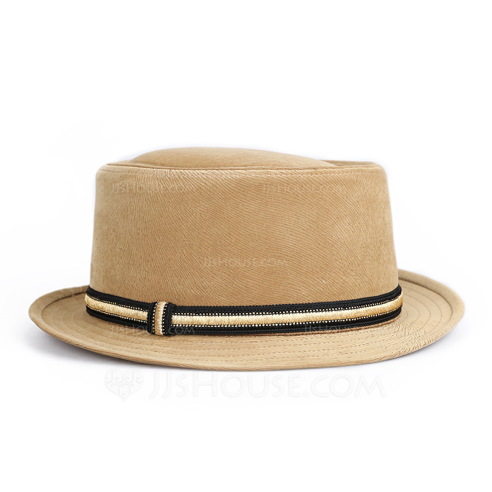 Hommes Glamour/Style Classique Polyester Chapeau Fedora/Panama