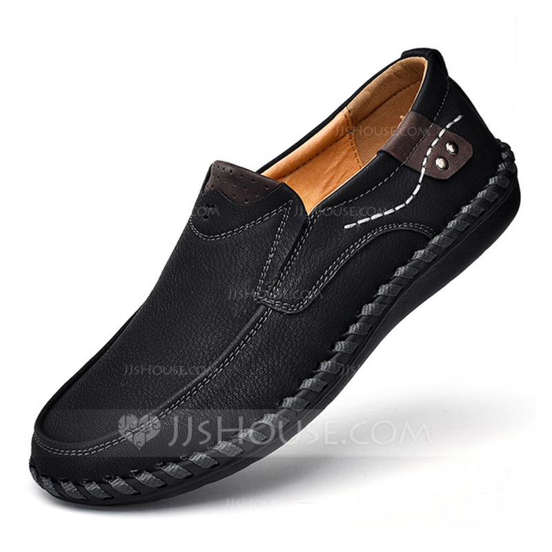 Men's Leatherette Boat Shoes Casual Men's Loafers