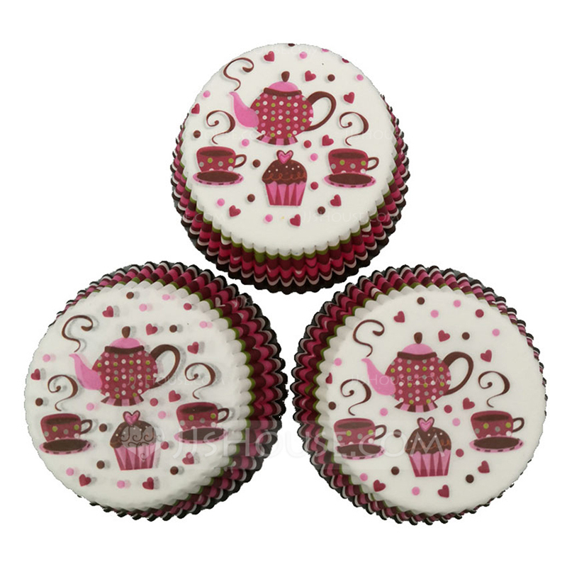 Nice Pearl Paper Cupcake Wrappers (Set of 100)