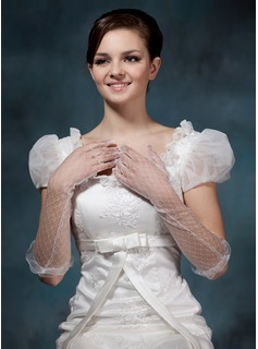 Voile Elbow Length Party/Fashion Gloves/Bridal Gloves